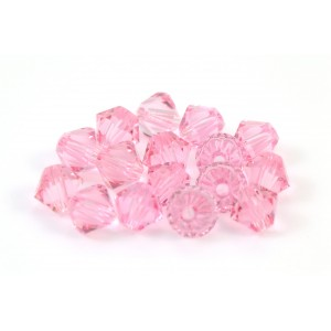 BICONE SWAROVSKI (5328) 3MM LIGHT ROSE